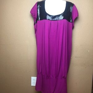 Torrid Hot Pink Sequins Plus Size 2